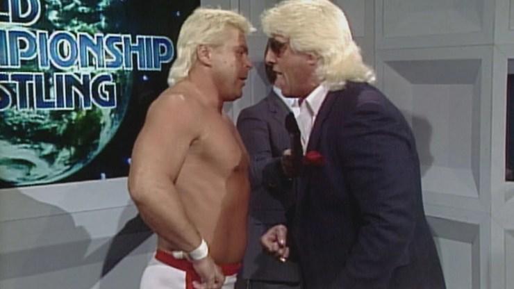 Ronnie Garvin and Ric Flair