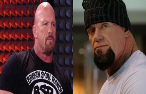 Steve Austin and The Undertaker