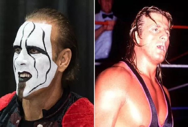 Sting and Owen Hart