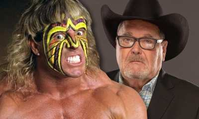 Ultimate Warrior and Jim Ross