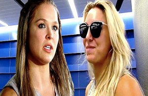 Charlotte Flair vs Ronda Rousey WWE