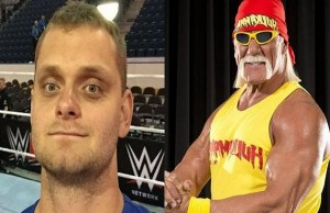 David Benoit and Hulk Hogan