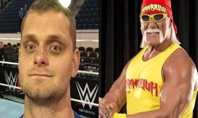 David Benoit and Hulk Hogan