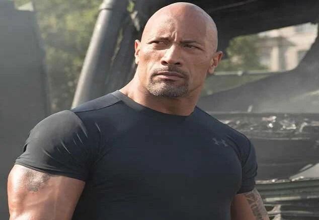 Dwayne The Rock Johnson WWE legend