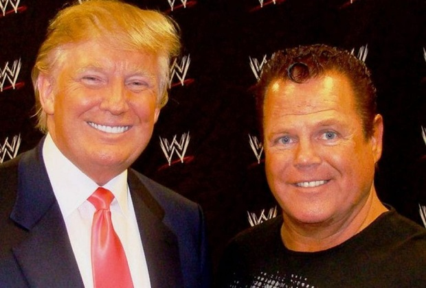 Jerry Lawler and Donald Trump