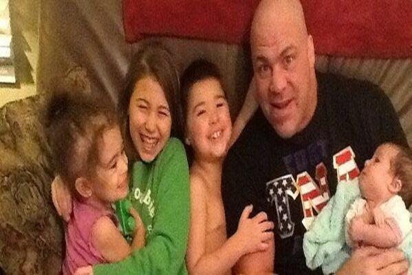 Kurt Angle's children and family