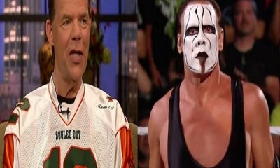 Lex Luger On His Friendship With Sting