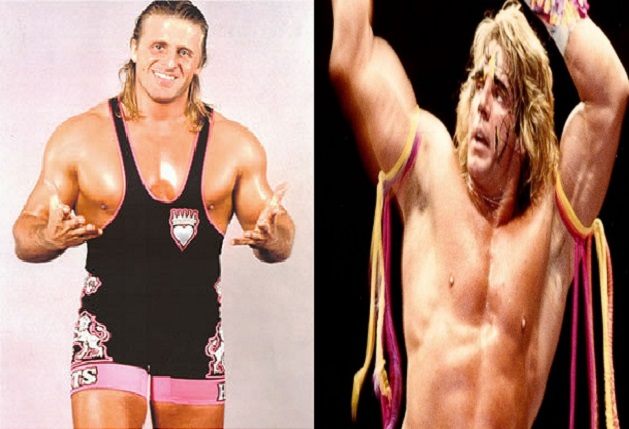 Owen Hart and The Ultimate Warrior