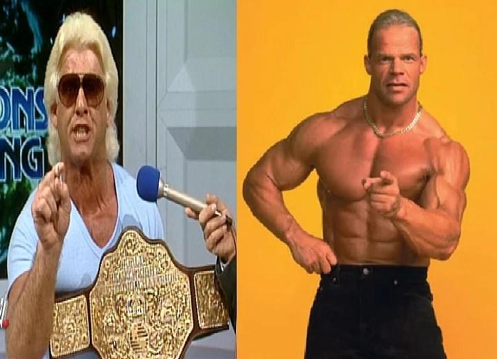 Ric Flair and Lex Lugar