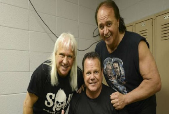 Robert Gibson, Ricky Morton and Jerry Lawler