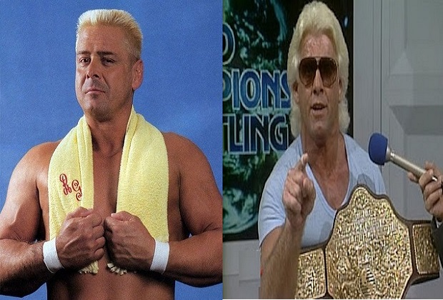 Ronnie Garvin and Ric Flair NWA