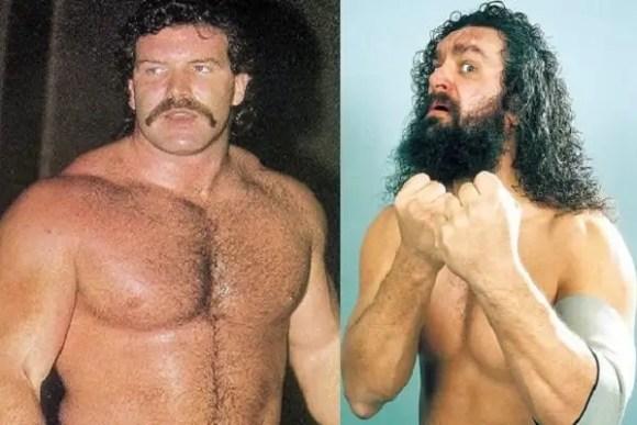 Scott Hall and Bruiser Brody Wrestling superstars Pro wrestling