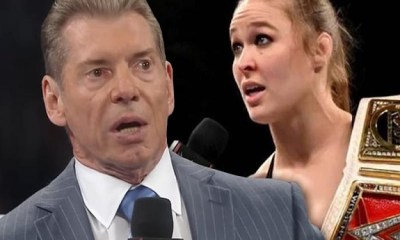 Vince McMahon and Ronda Rousey WWE