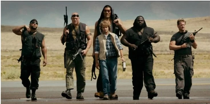 Chris Jericho, Big Show, MVP, Kane, Mark Henry and Khali