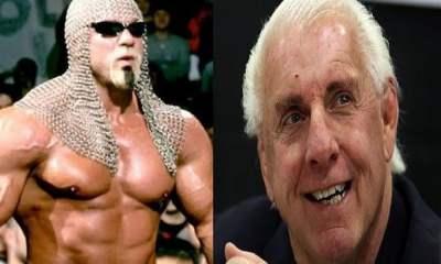 Scott Steiner and Ric Flair beef, enemies