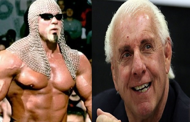 Scott Steiner and Ric Flair beef, enemies