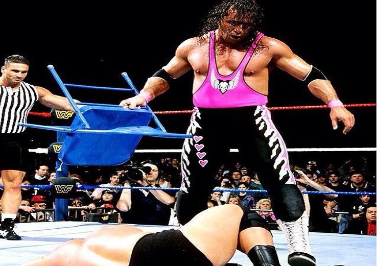Bret Hart vs Steve Austin Stone Cold