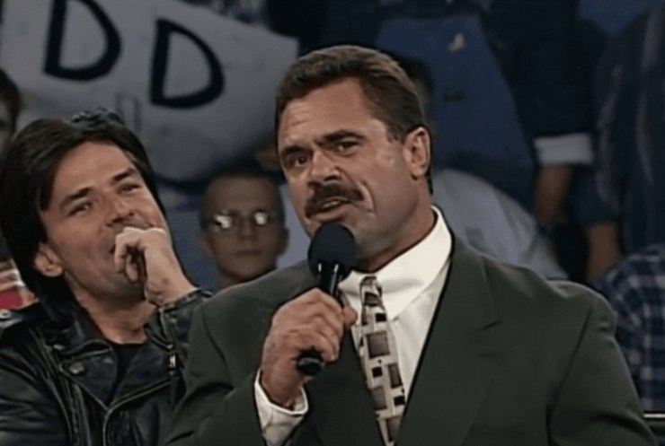 Eric Bischoff discussed his falling out with Rick Rude