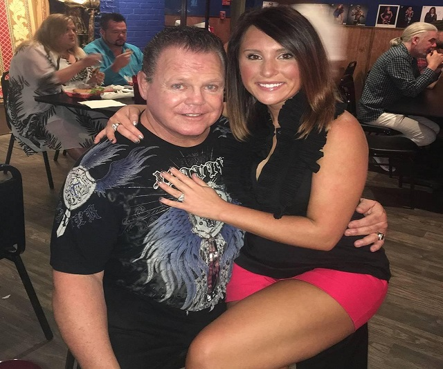 WWE legend Jerry The King Lawler and wife