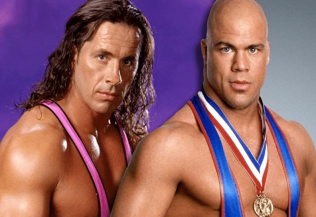Kurt Angle vs Bret Hart