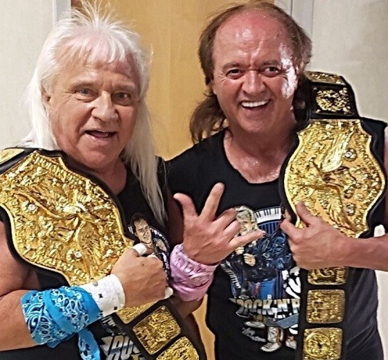 Rock N Roll Express Ricky Morton and Robert Gibson