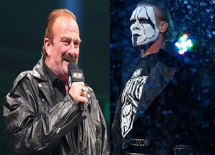 Jake The Snake Roberts and Sting