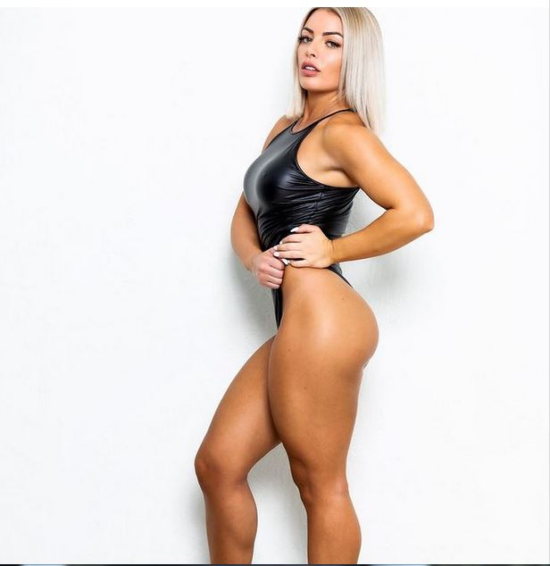 Mandy Rose shows off incredible sexy figure