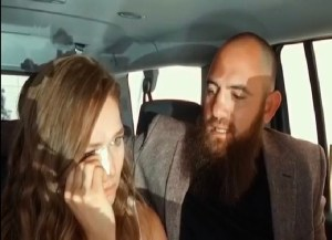 Ronda Rousey cry while with Travis Browne