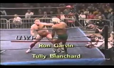 Ronnie Garvin defends his title against Tully Blanchard