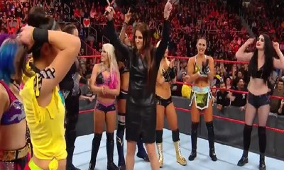 Stephanie McMahon WWE royal rumble