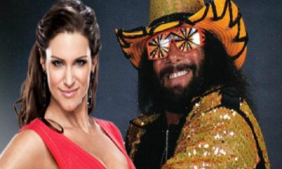 Stephanie McMahon and Randy Savage