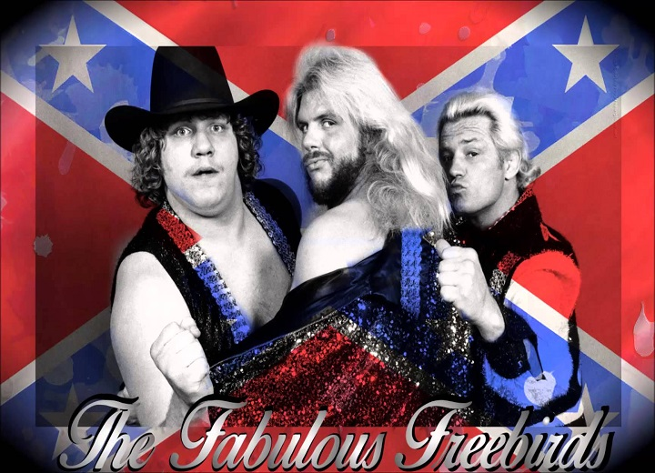 The Fabulous Freebirds wrestling legends