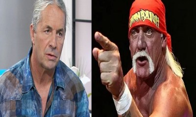 Bret Hart and Hulk Hogan