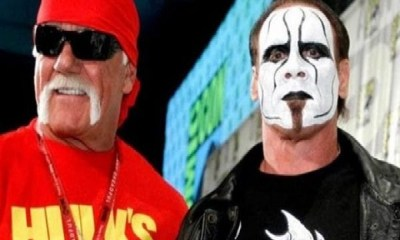 Hulk Hogan and Sting