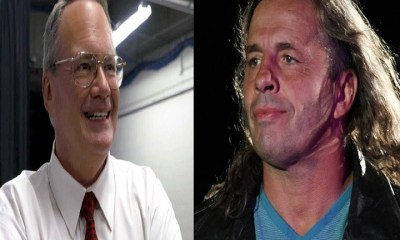 Jim Cornette and Bret Hart