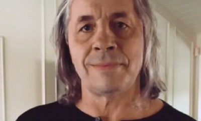 Wrestling legend Bret Hart reveals