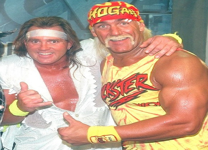 Brutus Beefcake and Hulk Hogan
