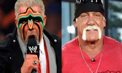 Hulk Hogan and Ultimate Warrior WWE
