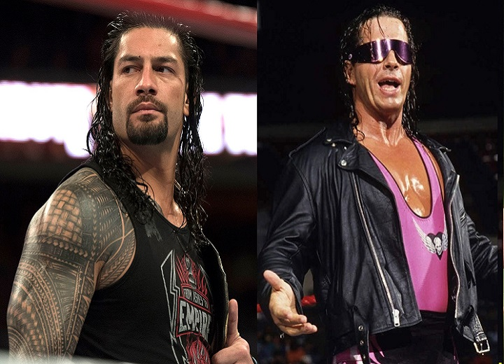 Roman Reigns vs Bret Hart