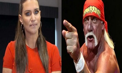 Stephanie McMahon and Hulk Hogan