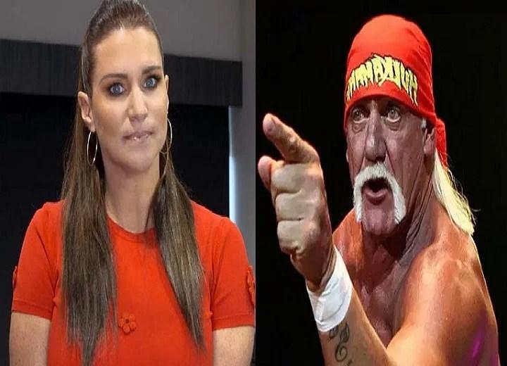 Stephanie McMahon and Hulk Hogan