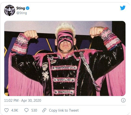 Sting replies Vince McMahon