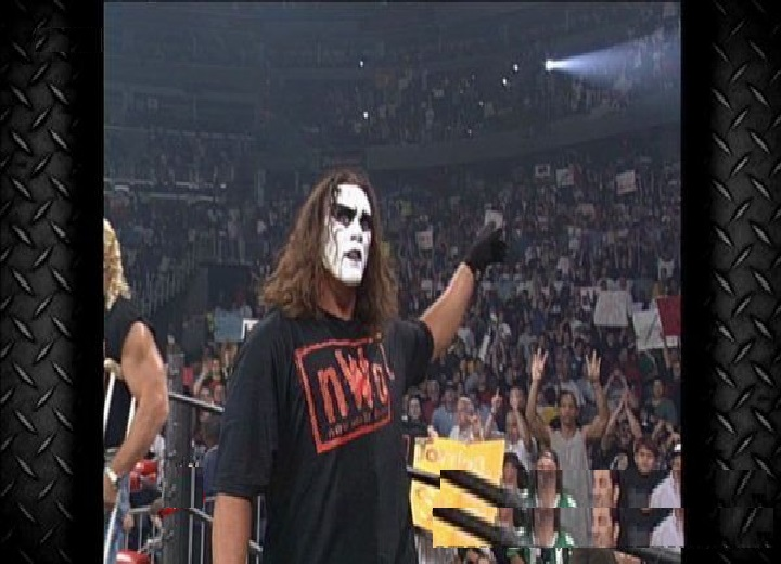 WWE WCW Sting Joins The Nwo Wolf