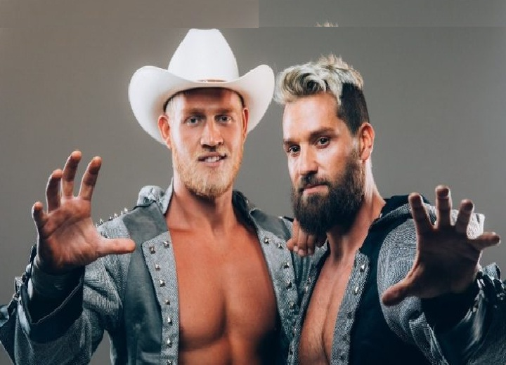 MLW Stars Ross and Marshall Von Erich