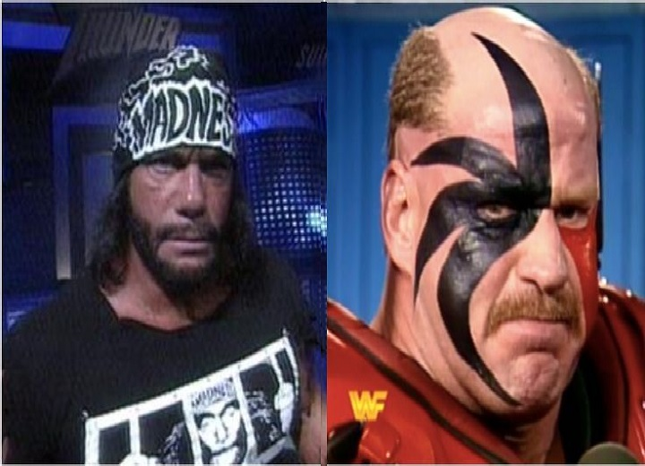 Randy Savage Macho Man and Road Warrior Hawk