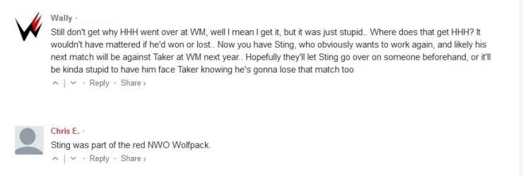 Sting fan