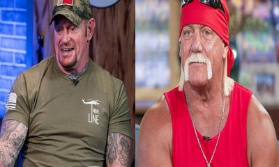 Undertaker and Hulk Hogan