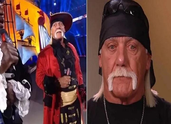 Hulk Hogan getting booed at WrestleMania 37