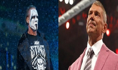 Sting and vince McMahon