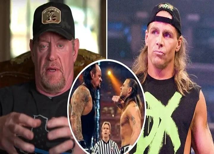 the undertaker shawn michaels